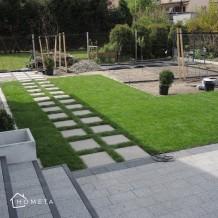 Płyty chodnikowe w ogrodzie